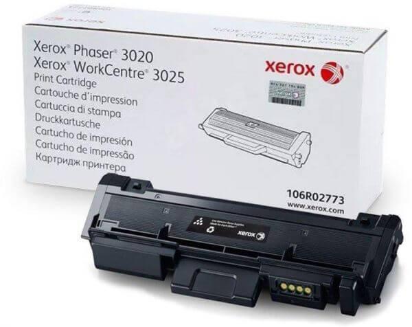 xerox 3020 заправка
